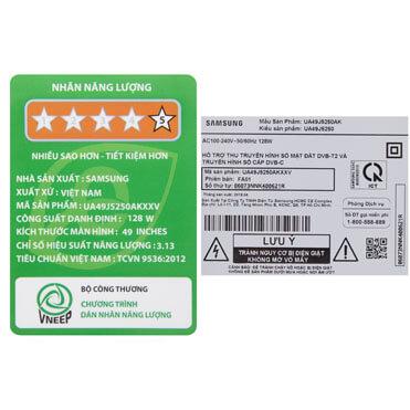 Smart Tivi Samsung 49 Inch 49j5250 9