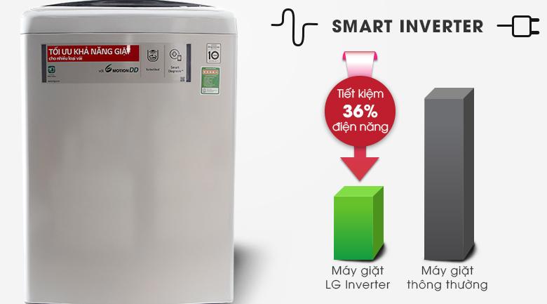 Máy giặt LG Inverter 11 kg T2311DSAL