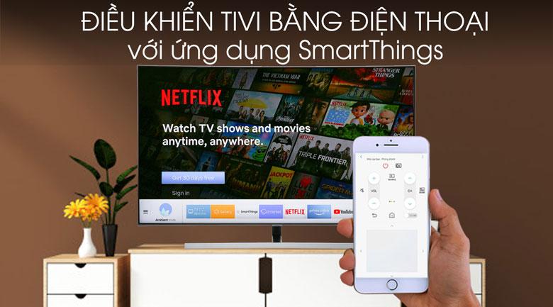 Smart Tivi QLED Samsung 65 inch 65Q80R