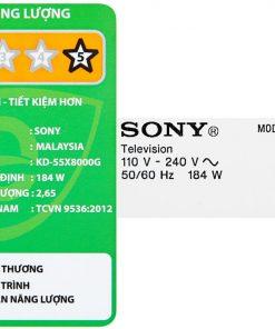 Tivi Sony Kd 55x8000g 10 Org