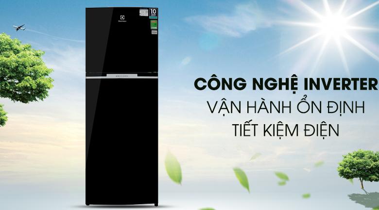 Tủ lạnh Electrolux Inverter 318 lít ETB3400H-H