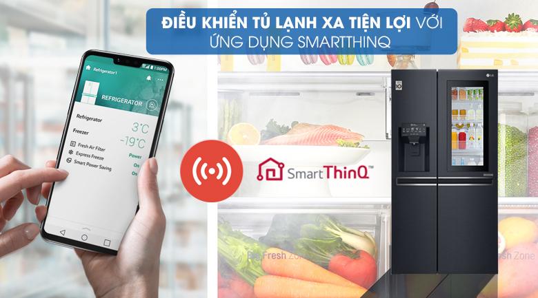 Tủ lạnh LG Inverter 601 lít GR-X247MC