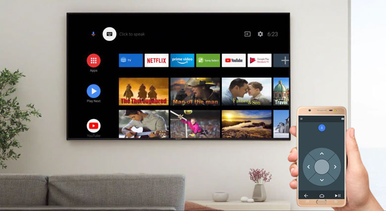Android Tivi Sony 4K 55 inch KD-55X9000H