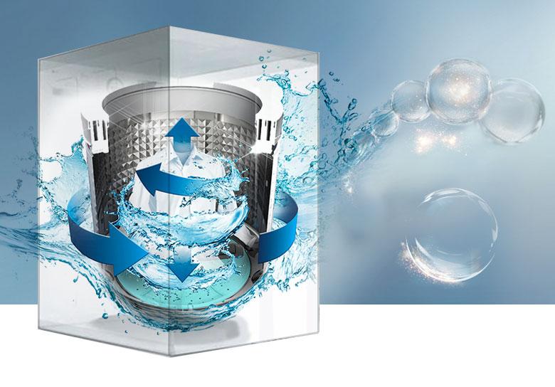 Máy giặt Samsung Inverter 12 Kg WA12J5750SP/SV