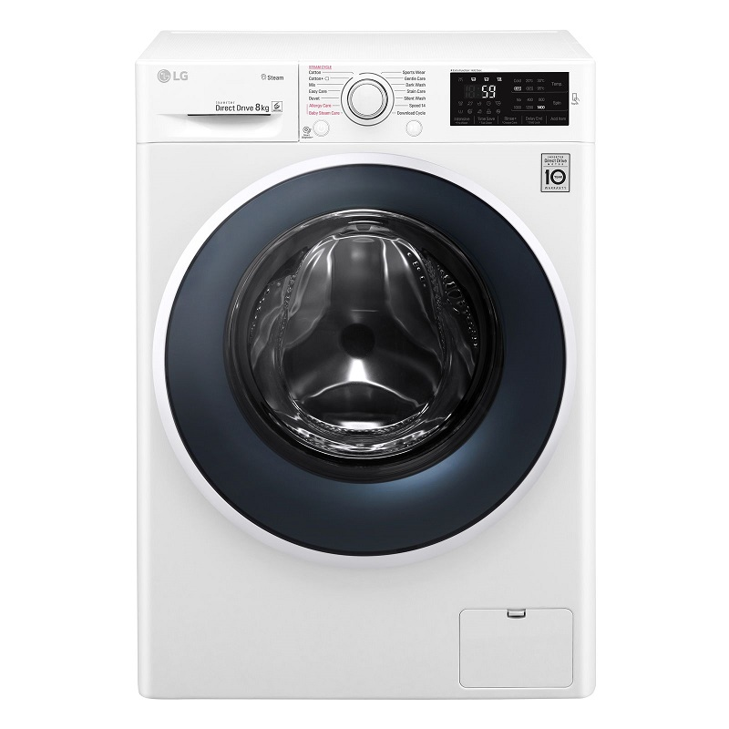Máy giặt sấy LG Inverter 8 kg FC1408D4W