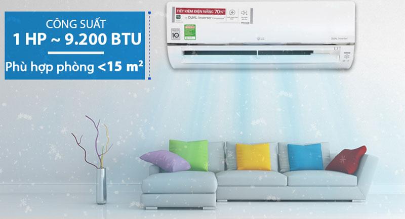 Máy lạnh LG Wifi Inverter 1 HP V10API