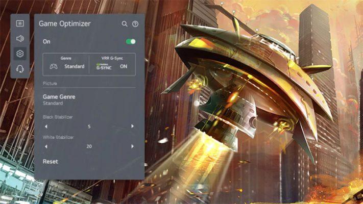 Smart Tivi LG 4K 65 inch 65UP7720PTC game