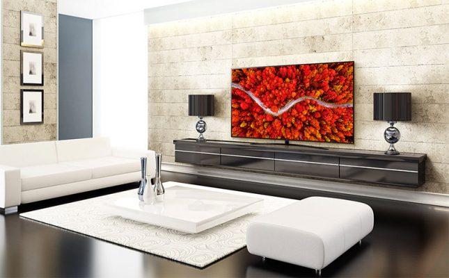 Smart Tivi LG 4K nội thất sang trọng