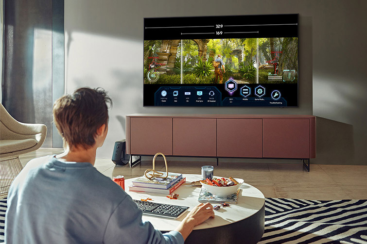 Smart Tivi Samsung Qled 4k 85inch 85q70aa 9