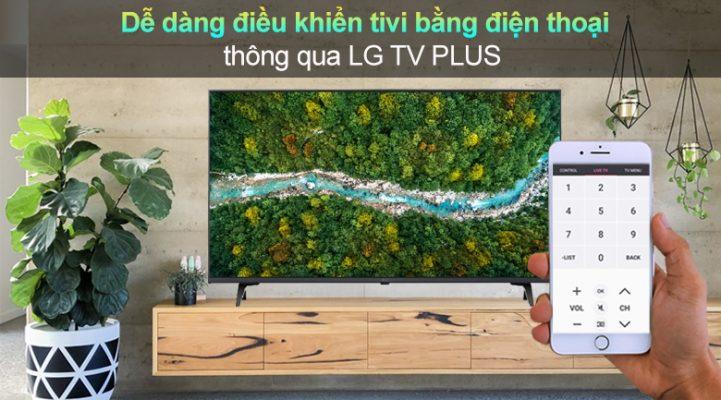 Smart Tivi LG 4K 65 inch 65UP7550PTC - điều khiển bằng điện thoại
