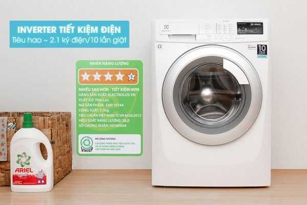 Máy Giặt Cửa Ngang Inverter Electrolux
